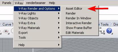 VRay settings